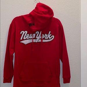 vs pink new york hoodie